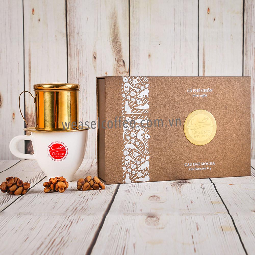 Hộp quà cafe Chồn Mocha