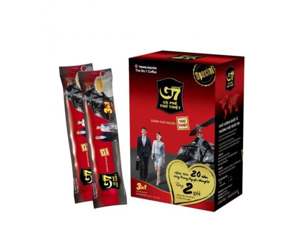 Cà phê G7 hòa tan 3in1-18 gói