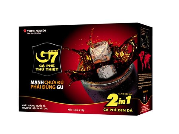 Cafe G7 đen đường( 2in1)
